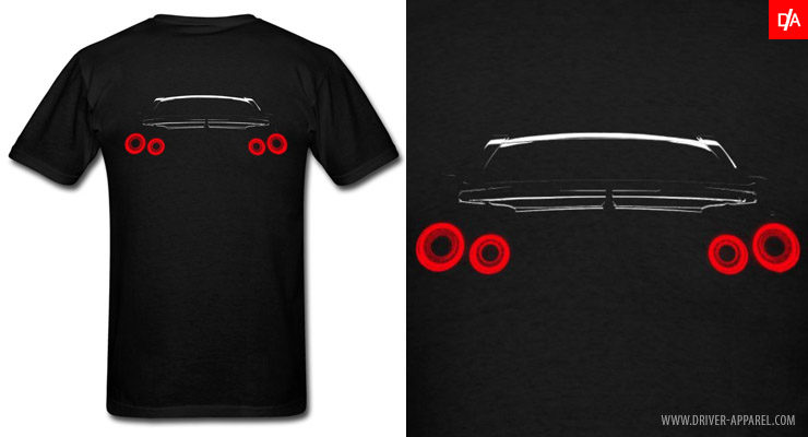 Nissan Skyline GTR R35 Rear Lights Shirts and Hoodies