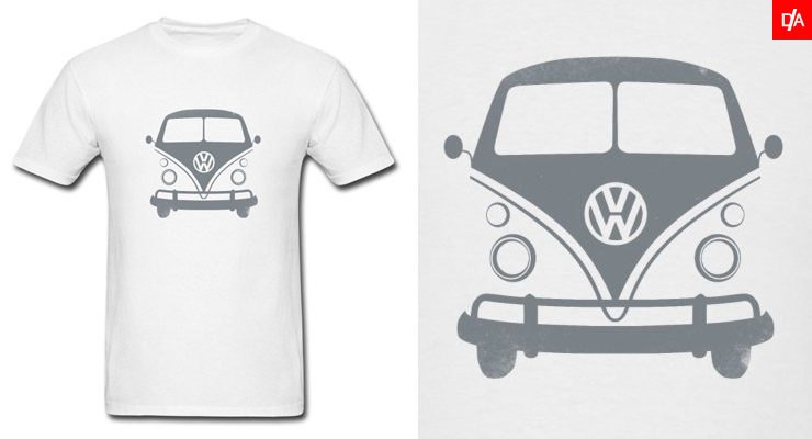 Vintage VW Bus Shirts and Hoodies