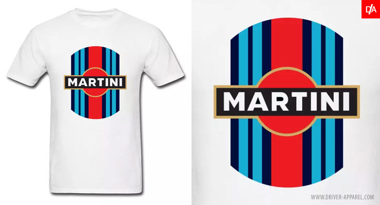 Martini Racing Logo/Stripe Shirt