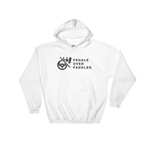 Save the manuals - Pedals Over Paddles Hoodie