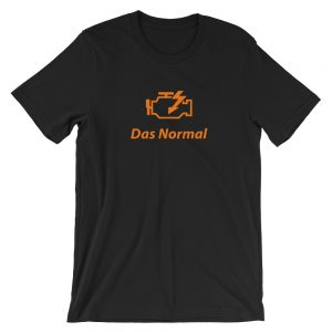 Check Engine t-Shirt - Das Normal - Car Enthusiast Shirt