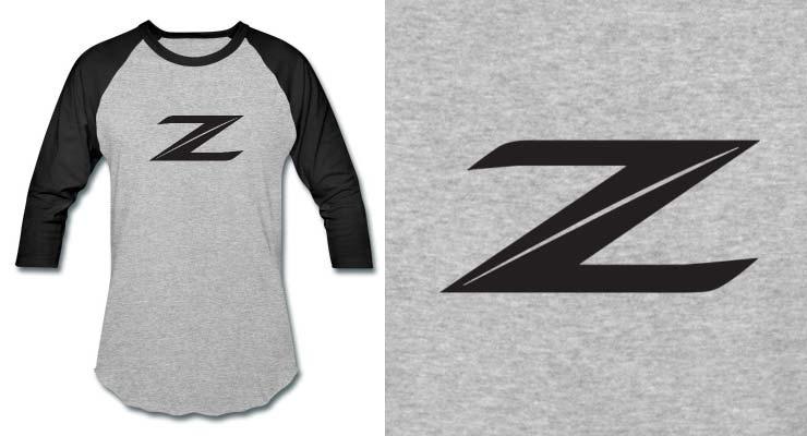 370z, z, logo, emblem, symbol, shirt, 370z shirt