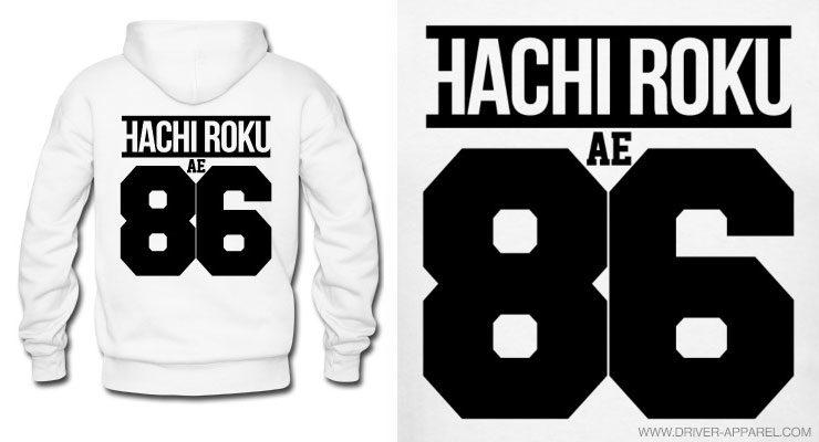 ae86, jdm, trueno, hachi roku, hoodie, sweatshirt