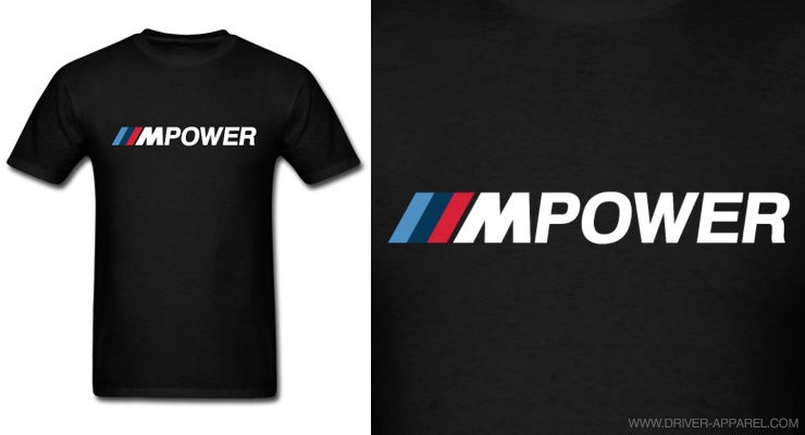 bmw m power shirt logo
