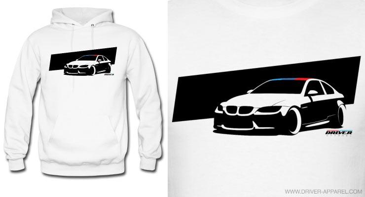 bmw m3 e92 hoodie m driver apparel