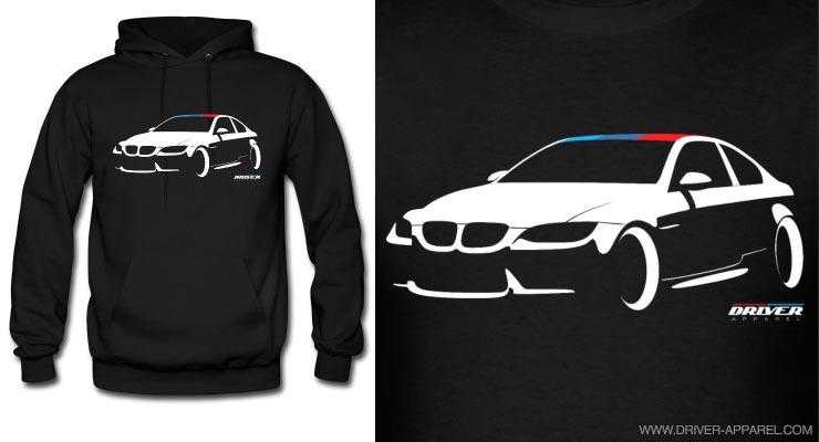 bmw m3 m sport e92 hoodie driver apparel