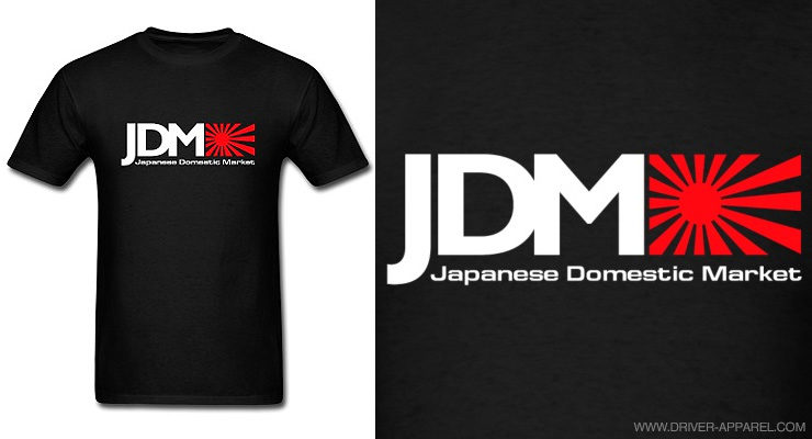 jdm, japanese domestic motors, logo, rising sun