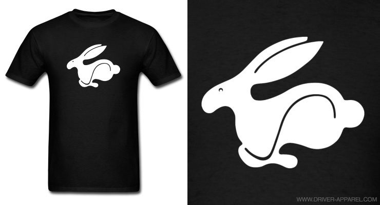 vw rabbit shirt, gti, golf, rabbit, shirt