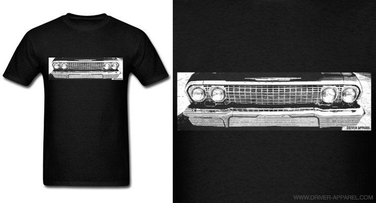 60s 1962 1963 chevy chevrolet impala shirt