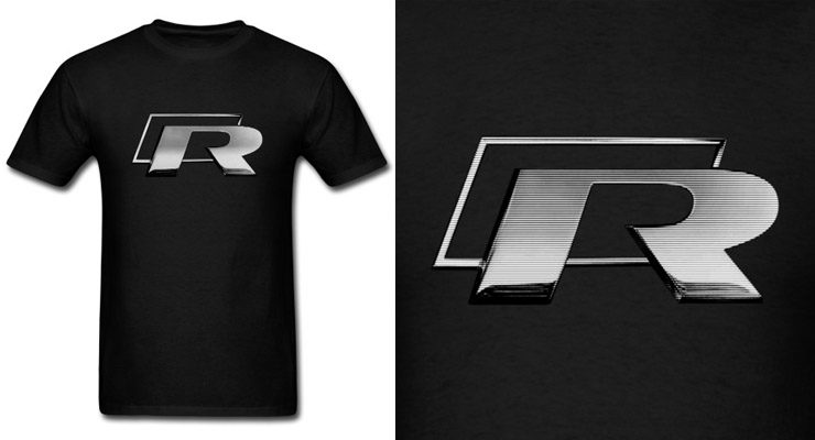 vw golf gti r r32 shirt logo emblem