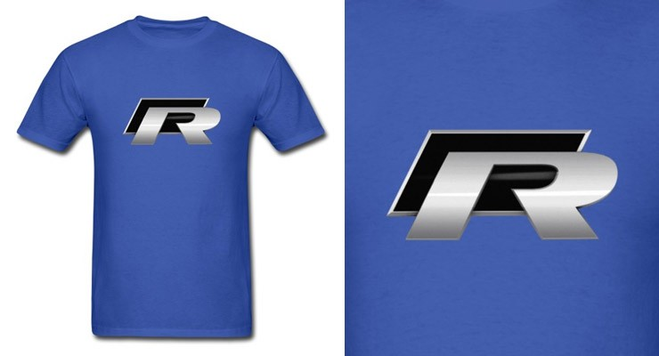 vw golf gti r r32 shirt logo emblem