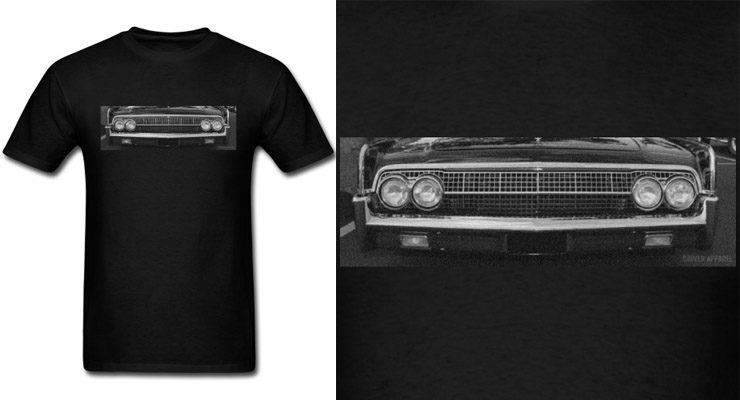 1963 lincoln continental shirt