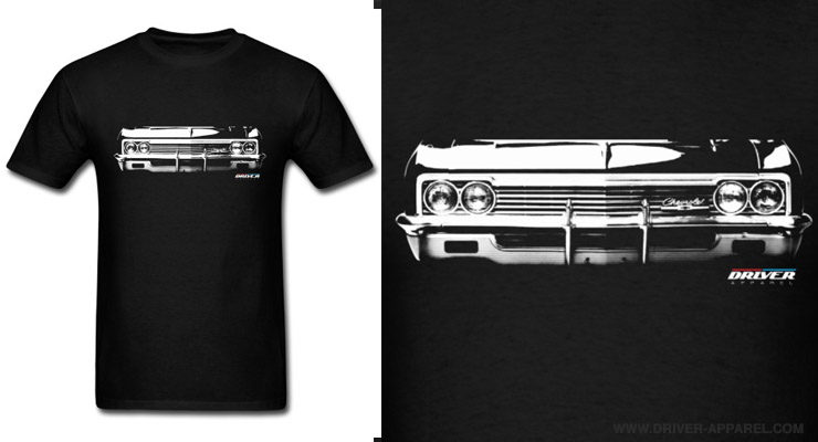 1966 1965 chevy impala shirt vintage classic car
