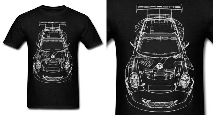 porsche 911 carrera shirt