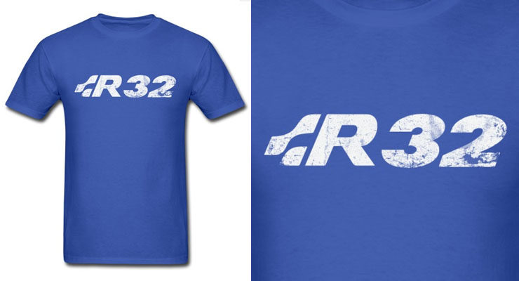 vw golf gti r32 shirt