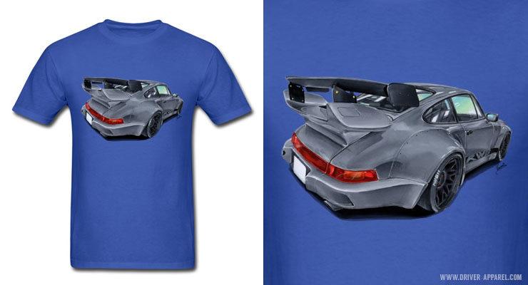 Porsche 964 Rauh Welt Shirts and Hoodies