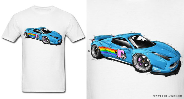 LB Performance Deadmau5 Ferrari 458 Shirts and Hoodies
