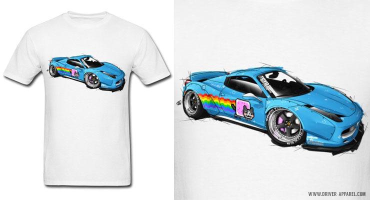 LB Performance Deadmau5 Ferrari 458 Shirts and Hoodies
