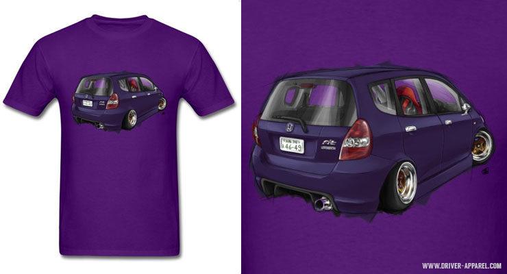 JDM Honda Fit t-Shirts and Hoodies