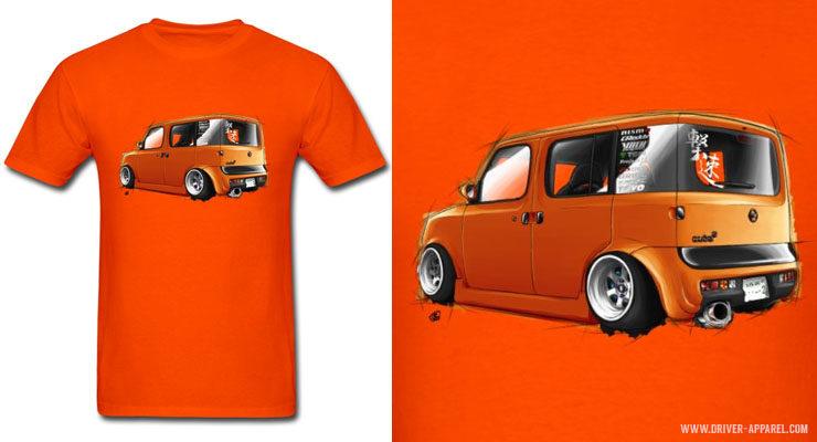 Stance JDM Nissan Cube Shirts & Hoodies