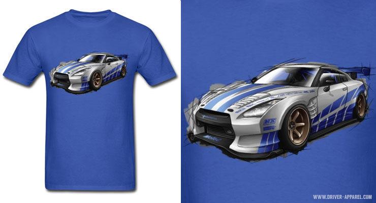 JDM Nissan Skyline GTR R35 Fast & Furious, Shirts & Hoodies
