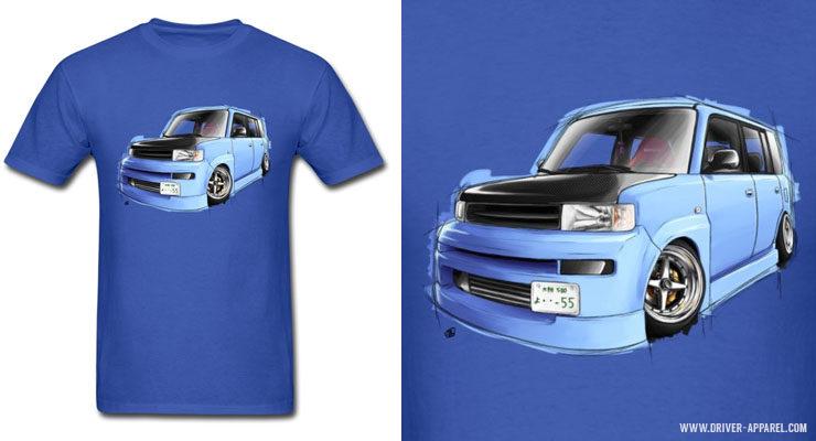 Stance JDM Scion xB / Toyota bB Shirts & Hoodies