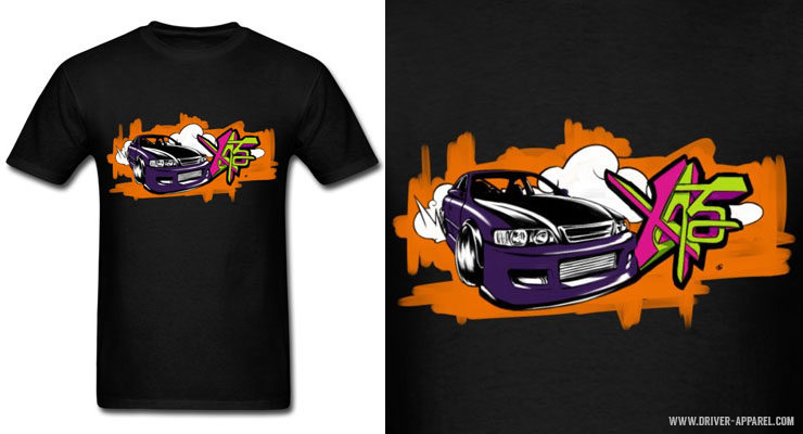 JDM Toyota JZX100 Chaser Drift Car - Shirts and Hoodies