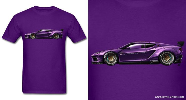 Liberty Walk Lamborghini Asterion Shirts and Hoodies