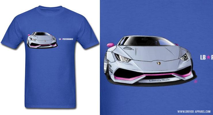 LB Performance Lamborghini Huracan Shirts and Hoodies