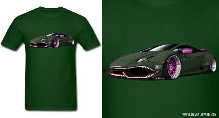 Liberty Walk Lamborghini Huracan Shirts and Hoodies