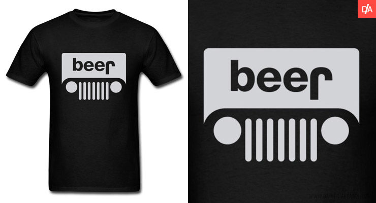 Beer Jeep Shirts and Hoodies