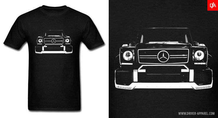 Mercedes G-Wagen W463 AMG Shirts and Hoodies