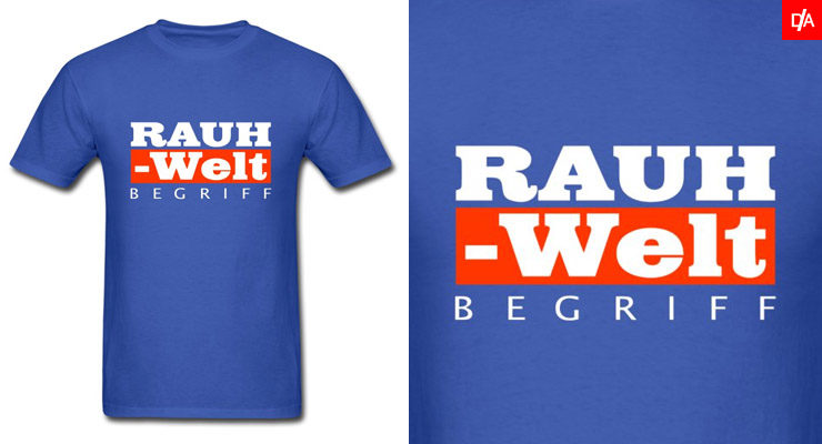 Red and White RWB Rauh Welt Logo Shirts and Hoodies
