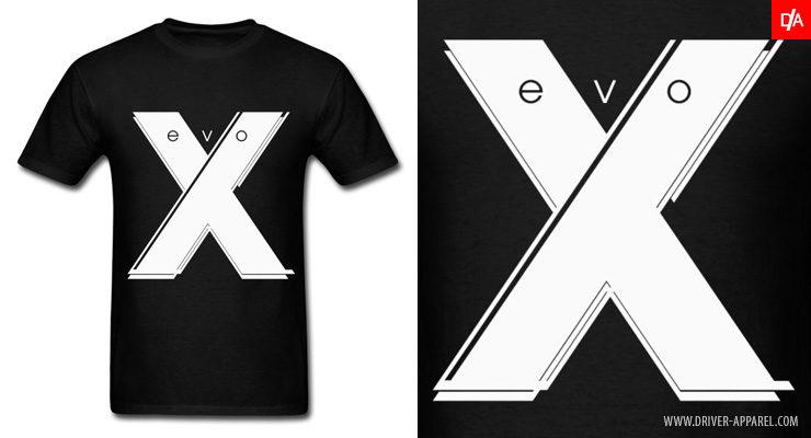 Mitsubishi Evo X Shirt - mitsubishi, evo, x, evolution, lancer, shirt