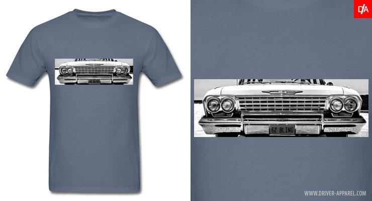 60s 1962 1963 chevy chevrolet impala shirt hoodie