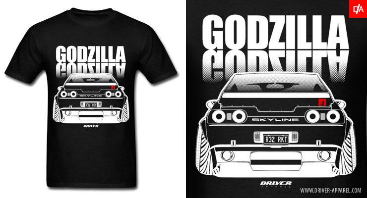 nissan, skyline, gtr, shirt, r32, nissan skyline shirt, jdm