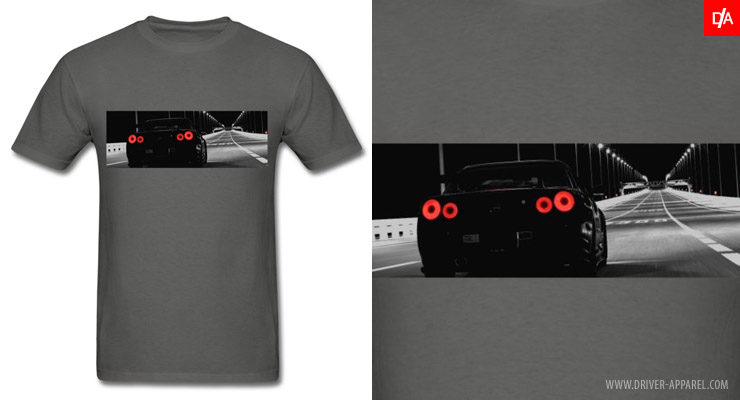 JDM Nissan Skyline GTR R35 Rear Lights Shirts and Hoodies