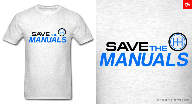 save the manuals shirt, manual, transmission, love