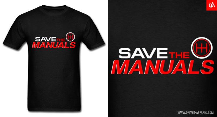 save the manuals shirt, manual, transmission, love