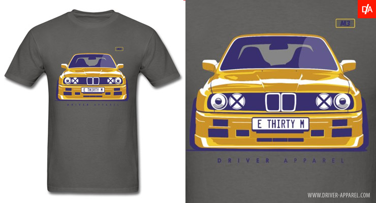 BMW E30 M3 Stance Shirts and Hoodies