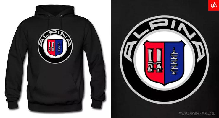 bmw, alpina, logo, emblem, hoodie, m3, m5