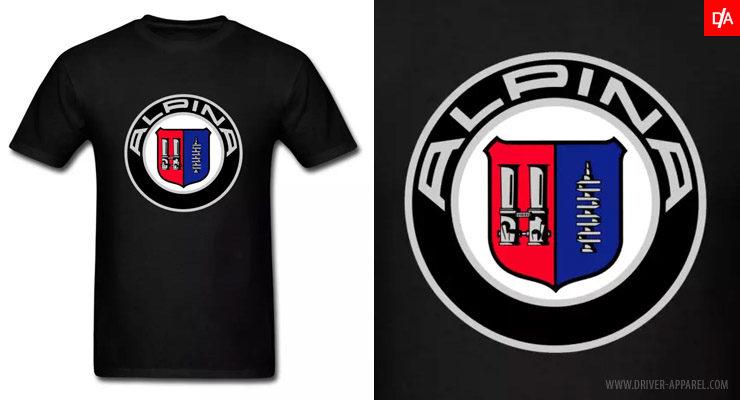 bmw, alpina, logo, emblem, shirt, m3, m5