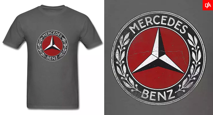 Vintage Mercedes Logo Emblem Shirts and Hoodies