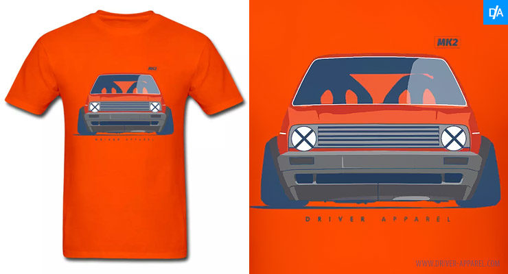 VW Golf GTi MK2 Stance Shirt
