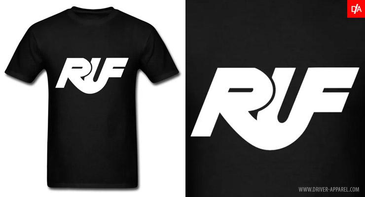 porsche, ruf, shirt, logo, porsche ruf shirt