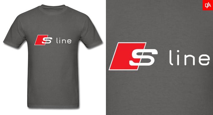 Audi S-Line Logo Shirts and Hoodies