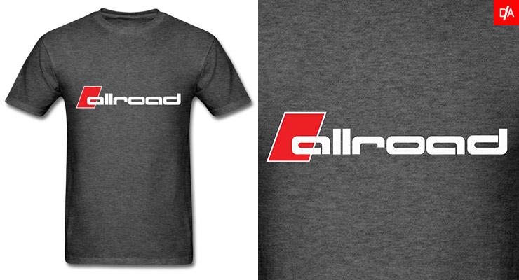 Audi Allroad Logo/Emblem Shirts and Hoodies