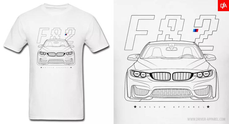 bmw, f82, shirt, m4, m3, f80