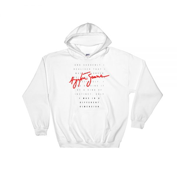 Ayrton Senna Hoodie - Quote F1 Racing Legend