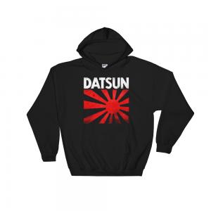 JDM Datsun Logo Hoodie Rising Sun Large